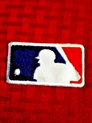 """MLB Jersey Sleeve Logo Patch Iron On Sew Bag Shirt Jacket Hoodie 2.25"""" In Stock"""