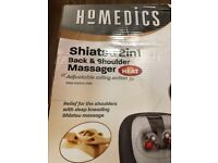 Homedics Shiatsu 2 in 1 Back and Shoulder Massager