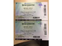 Michael Buble/Van Morrison + others in Hyde Park - 13th July - 2 x tickets (primary entry)