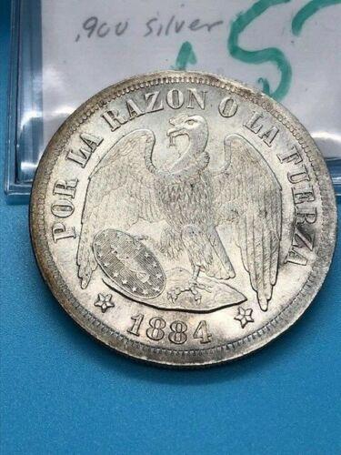 1884 - Chili - 1 Peso