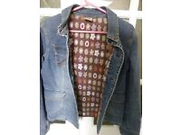 Quicksilver Girls Denim Jacket Roxy Life Size 2 Jacket