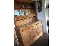 Beautiful solid wood kitchen dresser