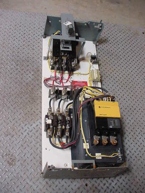 Cutler Hammer MCC Bucket Allen Bradley Soft Start 97 Amp 150-A97NBD 75 HP