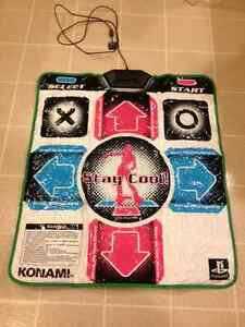 PlayStation with Rock Band and Dance Dance Revolution