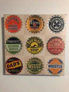 Bar Decor Canvas and Bar Sign