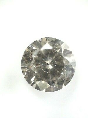 0.81 CT Round Champagne  Fancy Loose Diamond! GIA