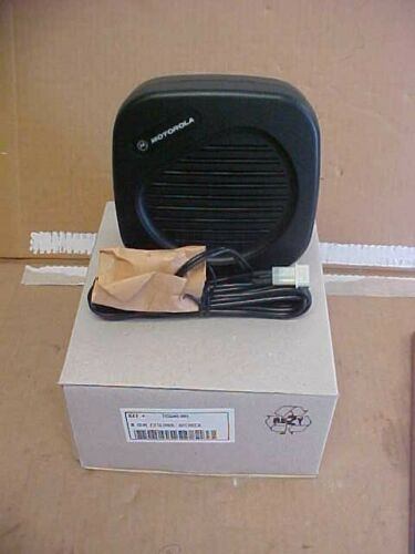 85% OFF NEW OEM MOTOROLA MOBILE RADIO 8 OHM EXTERNAL SPEAKER HSN4030A LOC#107A