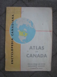 Encyclopedia Canadiana Atlas of Canada Booklet