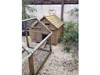 Hen House / Chicken Coop and Run