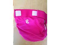 Washable nappies - Gnappies - pink - medium - new