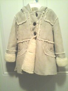 NWT Girl's faux jacket 2T