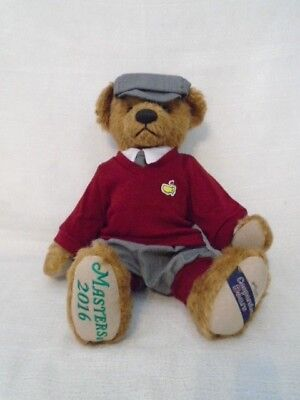 2016 Masters Champion Cooperstown Teddy Bear L/E 64/100 Danny Willett New In Box