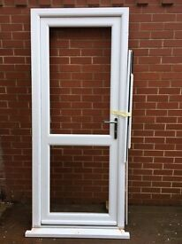 External Double Glazed Door, prevously installed but as new