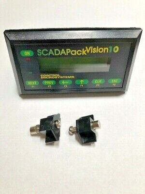 Scadapack Vision 10 Panel Interface Terminal Used