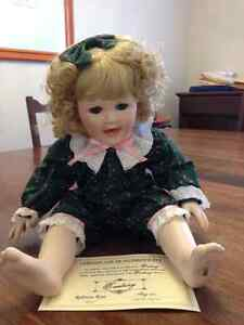 Porcelain Collectible Doll