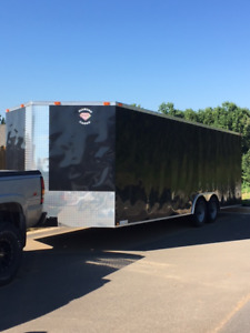 2016 Diamond Cargo 8.5' x 24' Enclosed Trailer