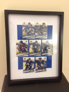 TORONTO MAPLE LEAFS UPPER DECK COMPLETE SET OF 7 HOCKEY CARDS
