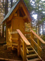 Timber Frame/Log Builder for Hire