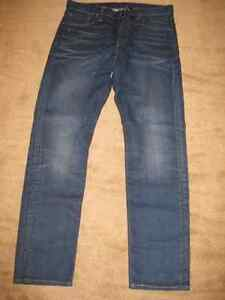 Various New or Like New Men's Premium Jeans (33 x 32 or 32 x 32)