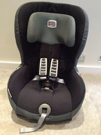 Britax Group 1 car seat. Black. Used but in excellent condition.