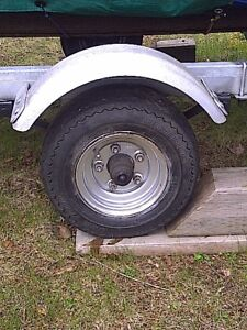 Boat Trailer Tire with Rim - WANTED