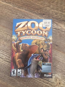 Zoo Tycoon Computer Game