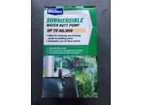 Water Butt Submersible Pump, new in the box