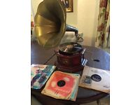 Gramophone reproduction with records