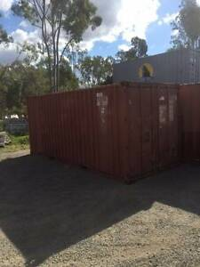 20FT 2nd Hand Shipping Container - As is Rockhampton Rockhampton City Preview