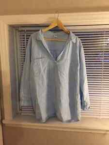 Old Navy Linen Shirt Size 3X Plus Cornwall Ontario image 1