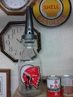 Vintage Oil Bottle with spout