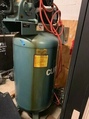 Curtis-toledo 5vt8-a3 80-gallon Air Compressor Woodworking Machinery