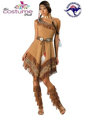 PLUS SIZE WOMENS POCAHONTAS/NATIVE AMERICAN COSTUME - Plus Size Pocahontas Costume