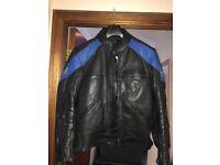 Lookwell leather bike jacket