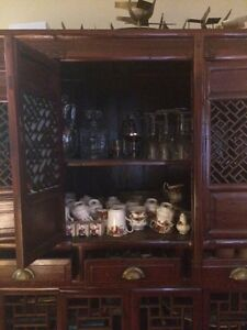 Antique 1900 Chinese Vegee/Fruit Cabinet