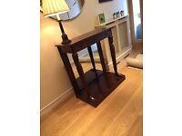 --- Antique style mahogany hall table ---