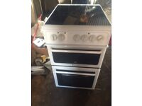 £99.00 hotpoint ceramic electric cooker+new model+3 months warranty for £99.00