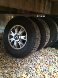 S10 GMC Jimmy Winter Tires and Rims
