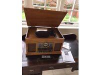 Steepletone westminster nostalgic DAB 7 in 1 Bluetooth music centre