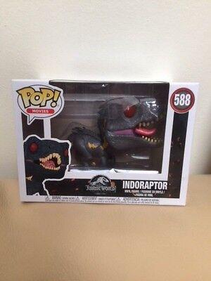 In Hand New Funko Pop  Movies Jurassic World Indoraptor Vinyl Figure