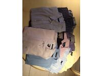 10 MEN'S SHORT SLEEVED SHIRTS SIZE XL, INCLUDING TOMMY HILFIGUR
