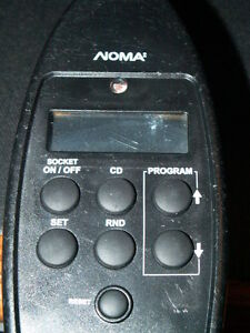 NOMA Programmable Outdoor Timer Model ET525C