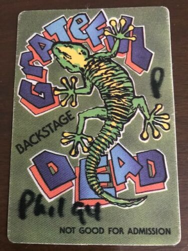 Grateful Dead 1994 Spectrum backstage pass (Phil 94)