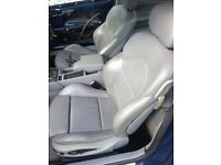 BMW 3 Series E46 M3 Coupe Electric Leather Interior Seats