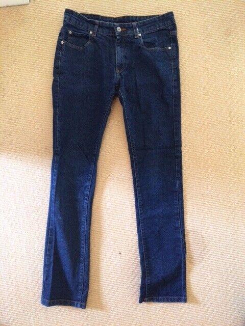 Zara Mens Jeans / Dark Blue / Size 32 / Skinny Cut