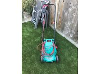 Bosch electric mower and strimmer