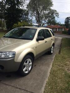 2006 Ford Territory Wagon TS AWD 7 Seater Warners Bay Lake Macquarie Area Preview