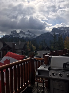 Canmore-Stunning Mountain 4 BR Furnished Home for Rent-Sunnyside