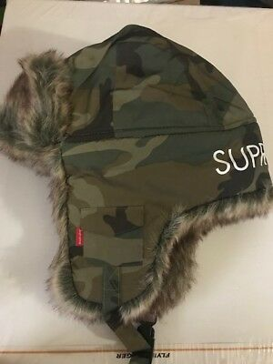 Supreme Reflective Woodland Camo Trooper FW18 - Authentic Sold Out NWT