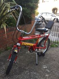 Raleigh Chopper Mark 3 bycycle - great condition
